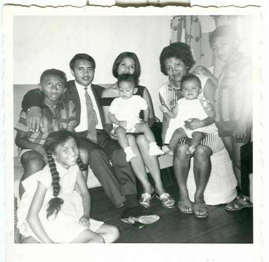 Edgard et Aimée Family