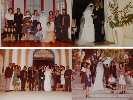 mariage Mimi et Roland 1976